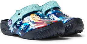 Crocs Kids Navy Fun Lab Frozen Clogs