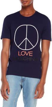 Love Moschino 3D Peace T-Shirt