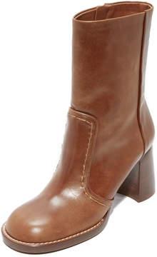 Joseph Duke Round Toe Mid Calf Boots