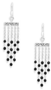 Lois Hill Signature Sterling Silver Drop Earrings