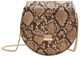 MANGO Flap chain bag