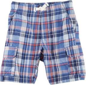 Carter's Toddler Boys Woven Plaid Shorts