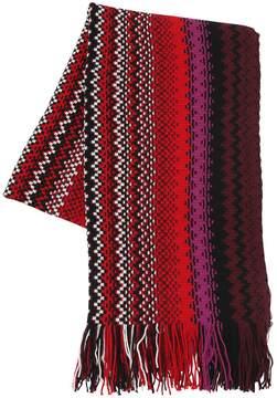 Missoni Jacquard Multicolor Wool Scarf