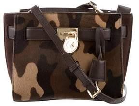 MICHAEL Michael Kors Ponyhair Small Hamilton Messenger Bag