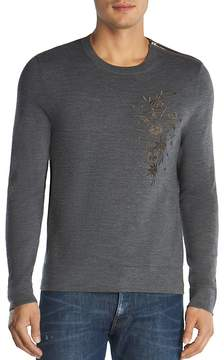 The Kooples Merino Embroidered Sweater