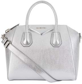 Givenchy Metallic Medium Antigona Leather Tote