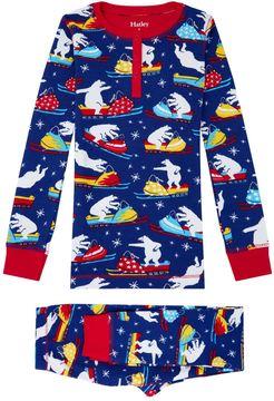 Hatley Polar Bear Print Pyjama Set