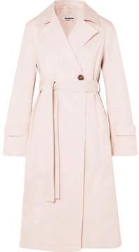 Jil Sander Cotton Trench Coat - Pastel pink
