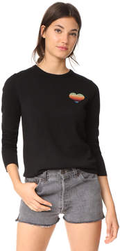 Bella Freud Disco Heart Sweater