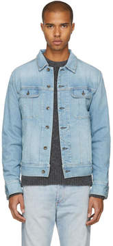 Rag & Bone Blue Denim Jean Jacket
