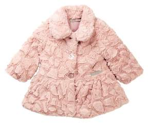 Calvin Klein Faux Fur Coat (Baby Girls)