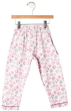Rachel Riley Girls' Floral Pajama Pants