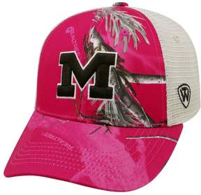 Top of the World Adult Michigan Wolverines Doe Camo Adjustable Cap