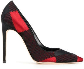 DSQUARED2 tartan pointed pumps