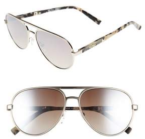 Max Mara Women's Desigs 57Mm Gradient Aviator Sunglasses - Light Gold