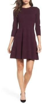 Eliza J Women's Fit & Flare Sweater Dress