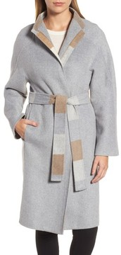Donna Karan Women's Dkny Wool Blend Wrap Coat