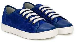 Lanvin Enfant toe cap low top sneakers