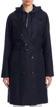 Emporio Armani Zipout Trench Hoodie