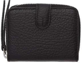 Maison Margiela Black Small Grained Wallet