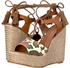 Etro Paisley Wedge Sandal Women's Sandals