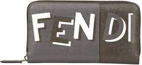 Fendi Printed Zip-around Wallet