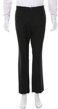 Dries Van Noten Flat Front Wool Pants