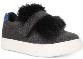 Nina Sneakers with Faux-Fur Trim, Toddler, Little Girls (4.5-3) & Big Girls (3.5-7)