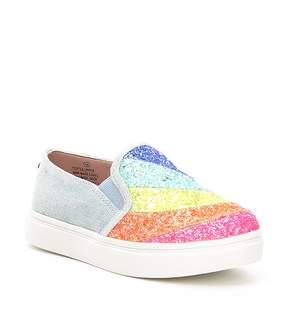 Steve Madden Girls' J-Wish Glitter Sneakers