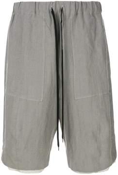 Individual Sentiments drawstring waist shorts