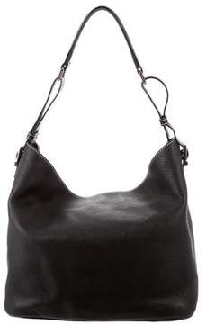Tiffany & Co. Grained Leather Hobo