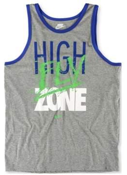 Nike Mens High Fly Zone Tank Top Grey 2XL