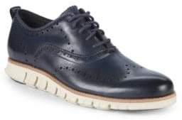 Cole Haan ZeroGrand Leather Wingtip Oxfords