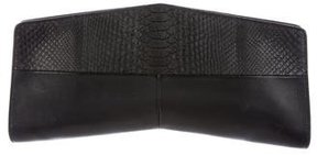Narciso Rodriguez Python & Leather Clutch