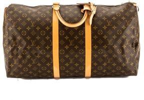 Louis Vuitton Monogram Canvas Keepall 55 Boston Bag