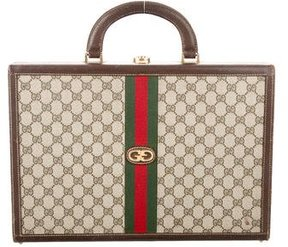 Gucci Vintage GG Plus Briefcase