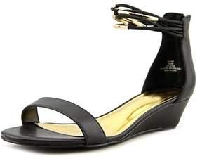 Thalia Sodi Leyna Open Toe Synthetic Wedge Sandal.