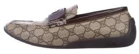 Gucci GG Plus Driving Loafers