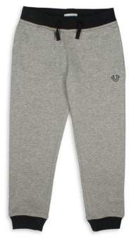 True Religion Toddler's, Little Boy's & Boy's Horseshoe Cotton Sweatpants