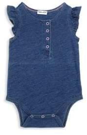 Splendid Baby's Indigo Henley Bodysuit