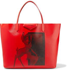 Givenchy Antigona Large Printed Coated-canvas Tote - Red