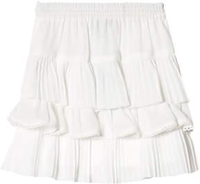 Little Remix Cream Lea Tiered Skirt