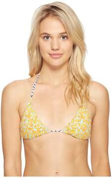 Echo Fleur De La Mer String Bikini Top Women's Swimwear