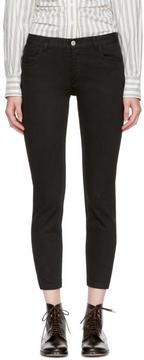 A.P.C. Black Étroit Court Jeans