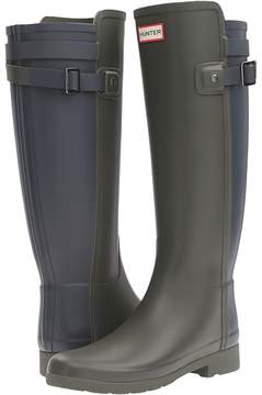 Hunter Original Refined Back Strap Rain Boots Women's Rain Boots