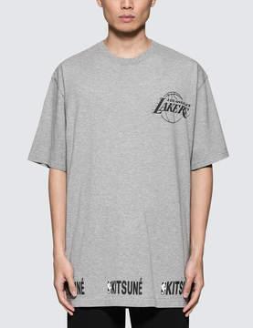 MAISON KITSUNÉ Lakers S/S T-Shirt