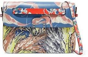 Valentino Mime Printed Leather Shoulder Bag