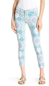 Big Star Alex Crop Mid Rise Skinny Jeans