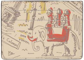 Burberry Beige Icon Print London Card Holder