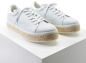 FOREVER 21 Denim Flatform Sneakers